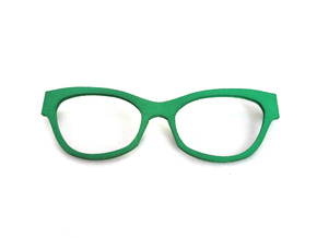 Frame F003  in Green Strong & Flexible Polished