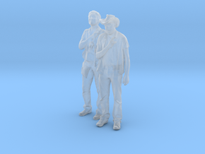 Printle C Couple 691 - 1/87 - wob in Smooth Fine Detail Plastic