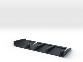 SCX10 III Flat Bottom Skid Plate Left in Black PA12