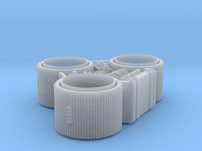 GALACTICA VIPER STUDIO SCALE NOZZLES in Smooth Fine Detail Plastic