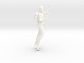 Jonny Quest Dr. Quest with Gun in White Processed Versatile Plastic
