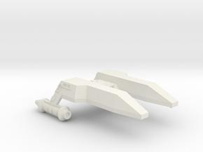3788 Scale Lyran Leopard-M Minesweeper (MS) CVN in White Natural Versatile Plastic