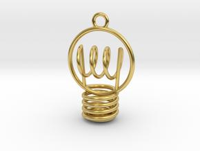 BIG iDEA in Polished Brass