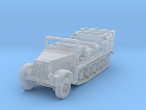 Sdkfz 7 early (open) 1/144 in Smooth Fine Detail Plastic