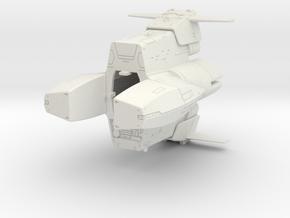 LOGH Imperial Vissarr 1:3000 (Part 2/2) in White Natural Versatile Plastic