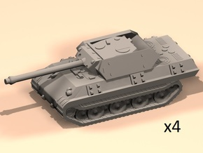6mm Pz-V Panther disguised as M10 in Smoothest Fine Detail Plastic