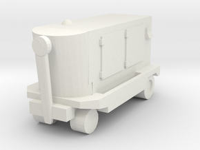 TLD Ground Power Unit 1/64 in White Natural Versatile Plastic