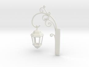 Light Sconce in White Natural Versatile Plastic