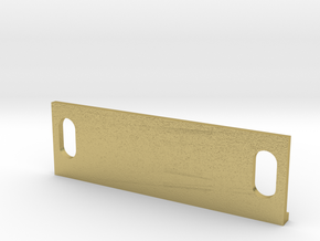 S Scale Motor Mount B for RS11 and River Raisin E8 in Natural Brass