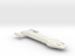 3788 Scale Hydran Hun Fast Medium Cruiser CVN in White Natural Versatile Plastic