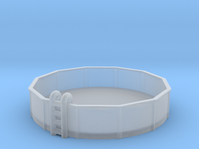 15ft Swimming Pool 1/160 in Smooth Fine Detail Plastic