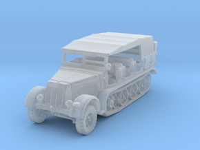 Sdkfz 7 early (covered) 1/144 in Smooth Fine Detail Plastic