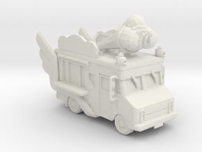 2020 Chevy Box Van Treat Truck 1:160 scale in White Natural Versatile Plastic
