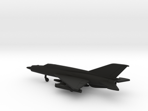 MiG-21bis Fishbed-L in Black Natural Versatile Plastic: 1:200