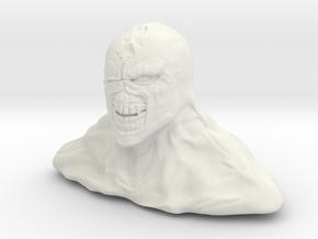Nemesis RE3 Bust in White Natural Versatile Plastic