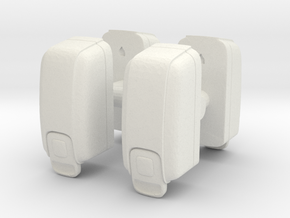 Hand Sanitizer Dispenser (x4) 1/24 in White Natural Versatile Plastic