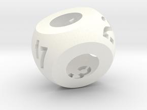 d4 in White Processed Versatile Plastic