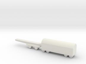 shell wagon 1/285 6mm 1 in White Natural Versatile Plastic