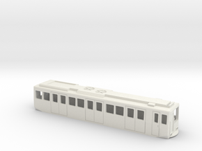 Carcasa S2000 Metro Madrid escala N Coche Motor in White Natural Versatile Plastic
