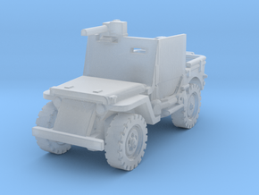 Jeep Willys Armored 1/160 in Smooth Fine Detail Plastic