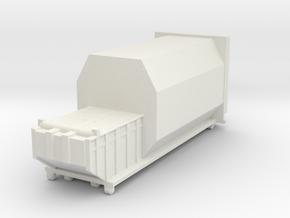 Waste Compactor 1/87 in White Natural Versatile Plastic
