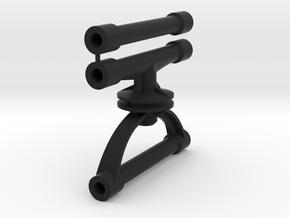 supports carro V2 pour margouillat in Black Natural Versatile Plastic