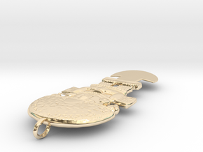 scantumimesh7_Rescaled(0.188763) in 14K Yellow Gold