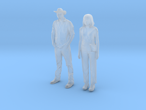 Printle C Couple 644 - 1/64 - wob in Smooth Fine Detail Plastic