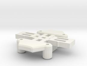 GT Chip Lock Parts in White Natural Versatile Plastic