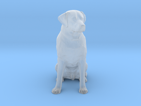 O Scale Labrador in Smooth Fine Detail Plastic