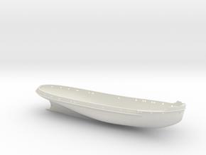 Temi_75_Hullonly_V1 in White Natural Versatile Plastic