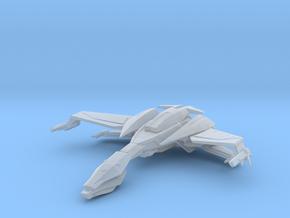 Klingon Ning' tao Class Bird of Prey Flight Mode in Smooth Fine Detail Plastic