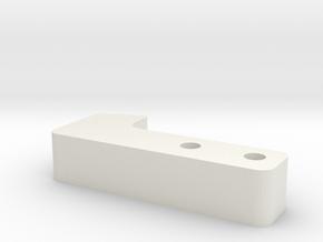 RCRP 008 Mugen MGT 7 oberer Querlenkerhalter hi. in White Natural Versatile Plastic