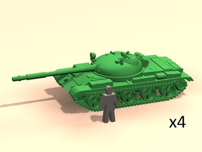 6mm T-62A tanks in Smoothest Fine Detail Plastic