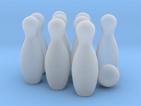 Skittle set Mk1 in Smooth Fine Detail Plastic