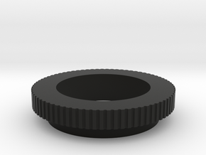 Spitfire fuel button bezel in Black Natural Versatile Plastic