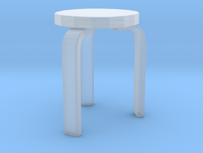 Kids Stool in Smoothest Fine Detail Plastic: Large