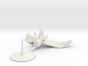 Pegasus in White Natural Versatile Plastic