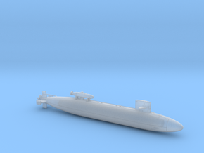 USS CAVALLA FH - 700 - hollow in Smooth Fine Detail Plastic