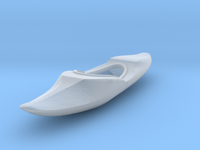 S Scale Kayak in Smooth Fine Detail Plastic