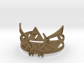 Zelda Bracelet in Natural Bronze