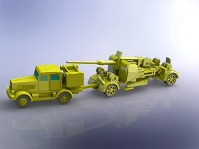 8,8cm Flak 41 moving 1/220 in Smooth Fine Detail Plastic