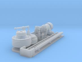 1:16 Tiger II inertia starter in Smooth Fine Detail Plastic