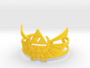 Zelda Bracelet in Yellow Processed Versatile Plastic