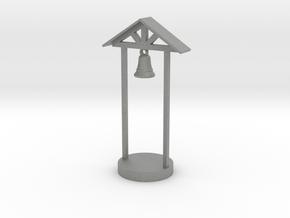 S Scale School Bell in Gray PA12