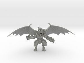 Berserk Zodd Beast 47mm miniature fantasy game rpg in Gray PA12