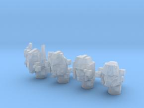 Commander Holograms (Siege) in Smooth Fine Detail Plastic