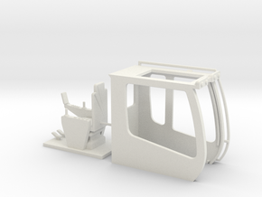 Sennebogen Maxcab 1 in White Natural Versatile Plastic: 1:50