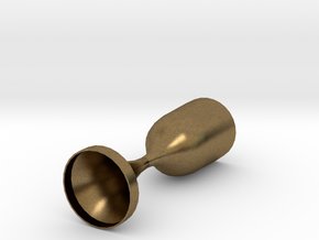 Converging Diverging Nozzle in Natural Bronze