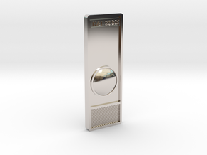 HAL 9000 Tie Pin in Rhodium Plated Brass
